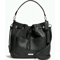 Coach Avery Leather Drawstring F27003 - Black