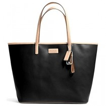 Coach Park Metro Leather Tote F24341 - Black (Delivery: 2 - 4 working days)