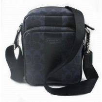 Coach Heritage Stripe Flight Bag F70589 - Dark Navy (Delivery: 2 - 4 working days)