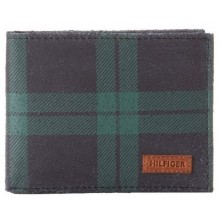Tommy Hilfiger Men's Berkeley Passcase Billfold - Blackwatch
