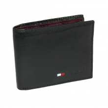 Tommy Hilfiger Men's Stockon Coin Passcase-Black (Delivery: 2 - 4 working days)