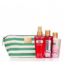 VS Pure Daydream Gift Bag (Green Stripe Clutch) (Delivery: 2 - 4 working days)