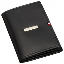 Tommy Hilfiger Men's Credit Card Trifold-Black (Delivery: 2 - 4 working days)
