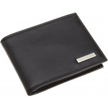 Tommy Hilfiger Men's Multi Card Passcase-Black
