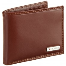 Tommy Hilfiger Men's Multi Card Passcase-Tan
