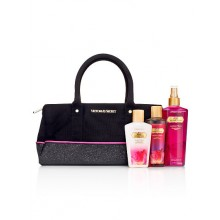 VS Pure Seduction Gift Bag (Black Mini Satchel) (Delivery: 2 - 4 working days)